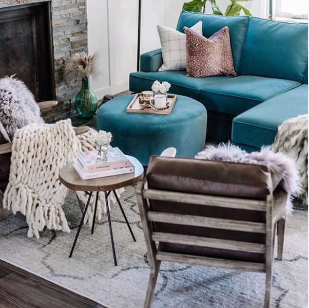 BLOG_Design Trends_Velvet Couch