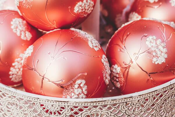Bowl of Ornaments