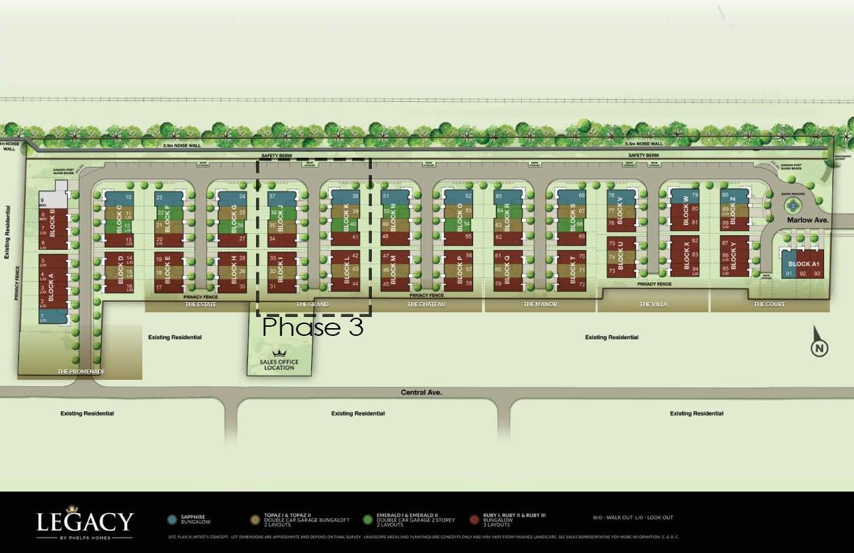 Legacy - Siteplan Phase 3