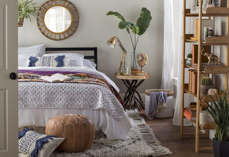 bohemian+bedroom+idea
